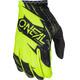 ONeal Matrix Rękawiczka rowerowa żółty/czarny